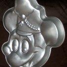 Bandleader Mickey Mouse Wilton Cake Pan Disney 515-302 Aluminum 1984 Band Leader