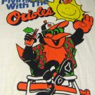 Flying High With The Baltimore Orioles Beach Bath Towel Oriole Bird Cotton Polyester 30 x 60 MLB