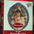 American Girl Frame Puzzles Samantha Three 50 Piece Complete M0949 2007 Mattel