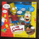 Bart Simpson RC Radio Control Skateboard The Simpsons Talking Krusty Controller NIB Remote 2000
