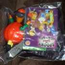 Pumpkin Apu Kwik-E-Mart The Simpsons Spooky Light Ups Figure Burger King Halloween 2001 NIP