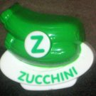 VTech ABC Food Fun Replacement Letter Z Green Zucchini Magnetic Refrigerator