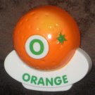 VTech ABC Food Fun Replacement Letter O Orange Magnetic Refrigerator