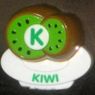 VTech ABC Food Fun Replacement Letter K Green Kiwi Magnetic Refrigerator