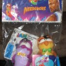 Space Jam McDonald's Plush Nerdlucks Looney Tunes Warner Bros Tune Squad Michael Jordan 1996 NIP