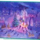 500 Piece Holiday Christmas Scene Jigsaw Puzzle Hallmark Complete