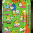 The Simpsons Pinball Game Toy 1990 JA-RU Homer Simpson Bart Marge Lisa Maggie Fox TV Family