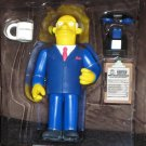 Superintendant Chalmers WOS Interactive Figure Series 8 Loose Playmates Simpsons