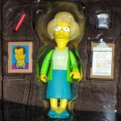 World of Springfield Edna Krabappel Interactive Figure WOS Series 7 Loose Playmates Simpsons