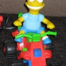 Bart Simpson RC Remote Control ATV Four Wheeler Run Amok The Simpsons 1990