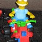Bart Simpson RC Remote Control ATV Four Wheeler Run Amok The Simpsons 1990