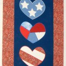 God Bless America Patchwork Decorative Garden Flag USA Patriotic 28 x 40 Polyester New NIP