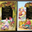 Fairy Tale Jigsaw Puzzle Books Lot of 2 Storybook 6 Puzzles Each Stories