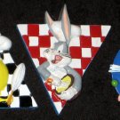 Looney Tunes Pin Lot of 3 Tweety Bird Bugs Bunny Daffy Duck Warner Bros