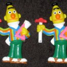 Sesame Street Bert Plastic Lapel Pin Lot of 2 Muppets CTW Applause T-Square Pins Jim Henson