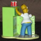 Homer Simpson Refrigerator LCD Talking Alarm Clock The Simpsons Fridge Wesco Duff Beer 2002