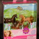 Barbie Stable Friends Family 88812 Mini Horses Collection 2000 NIB Mattel