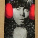 Three Stooges Christmas Polyester Necktie Neck Tie 3 Moe Larry Curly Curley Ralph Marlin 1995 NEW