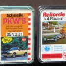 German Cars Card Game Lot Superautos Rekorde Schnelle PKW's Formel 1 Top Trumpf Penny FX Schmid
