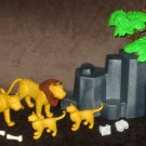 Playmobil 3895 Lion Pride Zoo Animals Lioness Cub Geobra 1996