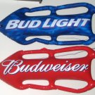 Inflatable Vinyl Budweiser Beer Bud Light Rescue Can Set Torpedo Shaped Life Preserver Saving Device