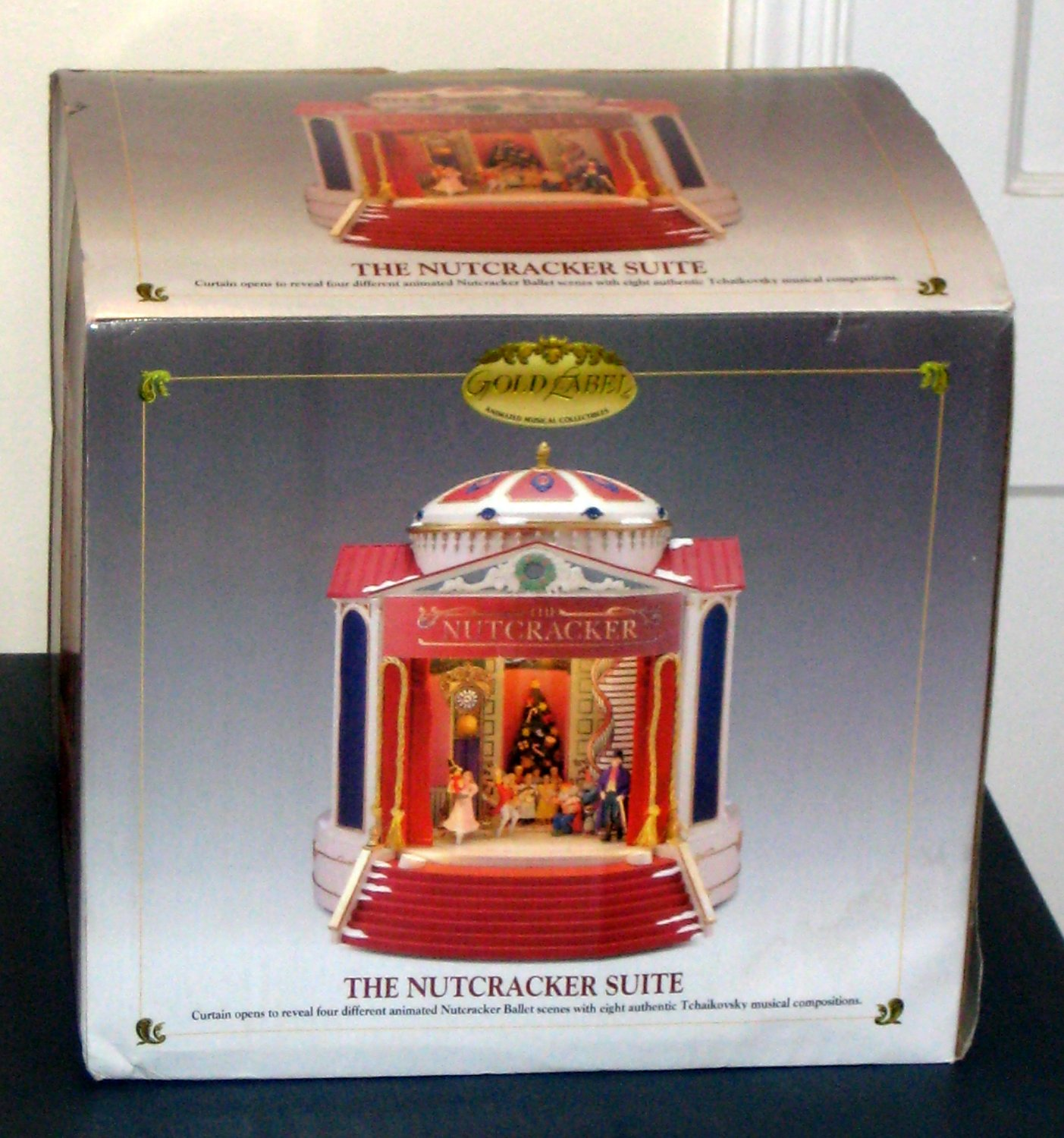 SOLD Mr Christmas The Nutcracker Suite Gold Label Animated Musical ...