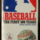 Baseball The First 100 Years Softcover Book Washington Senators Edition Official Centennial 1969