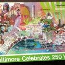 Baltimore Celebrates 250 Years 500 Piece Jigsaw Puzzle Maryland C&P Telephone Babe Ruth
