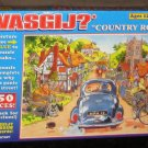 Wasgij 550 and 100 Piece Jigsaw Puzzles Country Road 3401 Monkey Business 8502 NIB Complete
