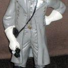 Robert E Lee Confederate Soldier Civil War Figure Parris Figurine PVC Gray Grey 2000