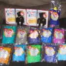 McDonalds TY Teeny Beanie Baby Lot of 16 American Trio Happy Meal Toys Beanies Fast Food Restaurant