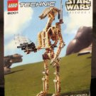 Lego Technic 8001 Star Wars Battle Droid Instruction Manual Only Book Booklet