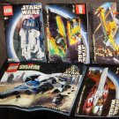 Lego 7151 8009 7133 7141 7143 Star Wars Instruction Manual Only Lot Book Booklet R2-D2 Sith Jedi