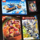 Lego 8103 7314 6586 8131 Instruction Manual Only Lot Book Booklet