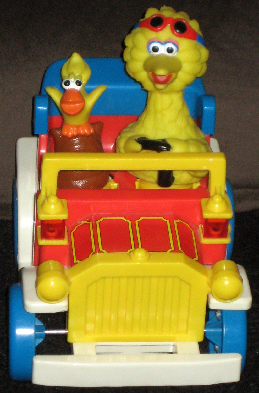 SOLD Big Bird Battery Operated Car Illco Sesame Street