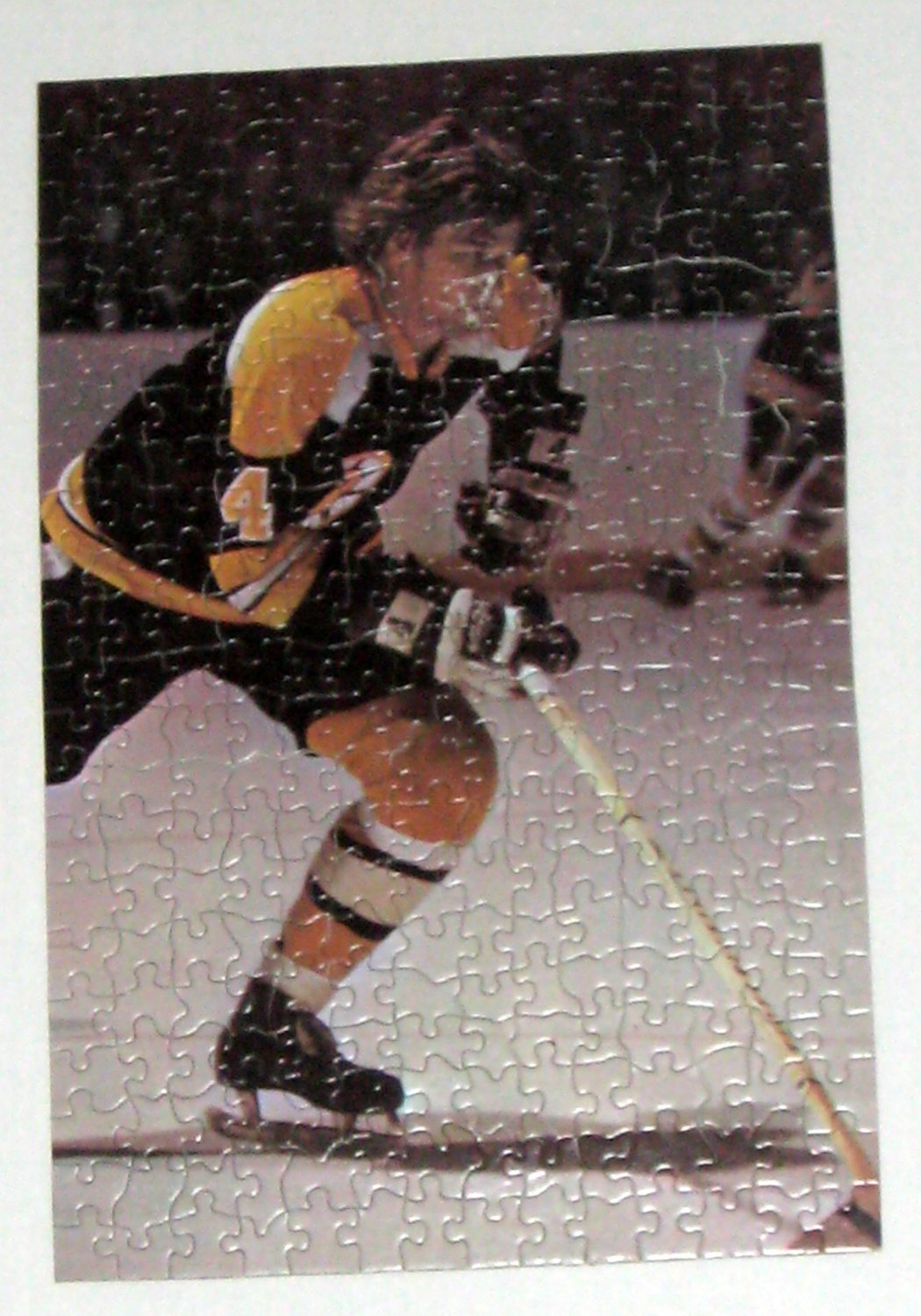 SOLD OUT Bobby Orr 300 Piece Jigsaw Puzzle 1801 Can Canister 1972 Boston Bruins NHL Ice Hockey