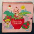 Strawberry Shortcake Lot Storage Case Anchor Hocking Fire King Bowl Frame Tray Puzzle Happy Meal Toy