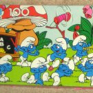 The Smurfs 100 Piece Jigsaw Puzzle Lot of 5 MB Milton Bradley Peyo Smurfette Papa COMPLETE