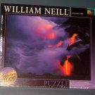 Twilight Fire 1000 Piece Jigsaw Puzzle William Neill Hawaii Volcanoes Lava SEALED NIB 2001