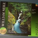 Avalanche Creek Montana 1000 Piece Jigsaw Puzzle William Neill SEALED NIB 2001