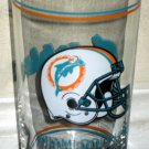 Miami Dolphins Drink Glass Drinking Tumbler NFL Football AFC