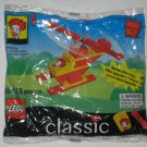 McDonald's Classic Lego Building Set 1 1999 Happy Meal Toy Factory Sealed Ronald McDonald Helicopter