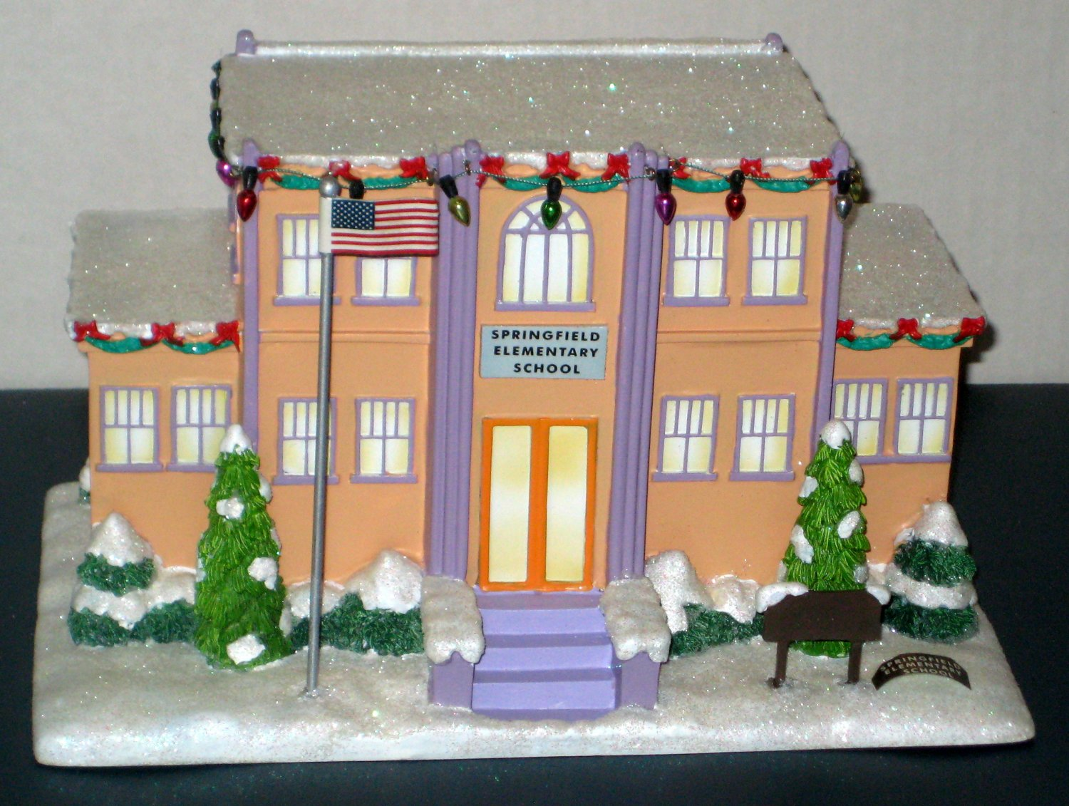 Simpsons Christmas Village.Sold Simpsons Hawthorne Christmas Village Collection 6