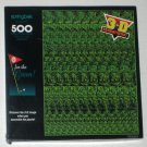 Go For the Green 500 Piece Springbok Jigsaw Puzzle Golf PZL4507 3D Sensations Stereogram SEALED