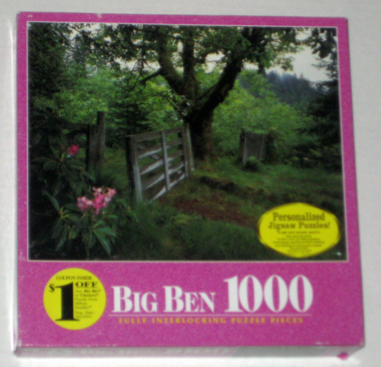 End of Oregon Trail 1000 Piece Jigsaw Puzzle Big Ben 4962-44 SEALED 1999