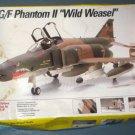 F-4G/F Phantom II Wild Weasel Model Kit 1/48 Scale Testors 572 COMPLETE 1991