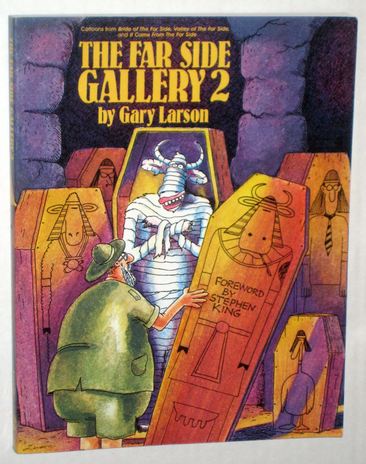 The Far Side Gallery 2 Softcover Paperback Gary Larson Humor Cartoons Comics