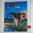 The Vanishing Tiger 1000 Piece Jigsaw Puzzle MB Milton Bradley 4895-7 Sealed 1998