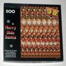 Merry Olde Santa Springbok 500 Piece Jigsaw Puzzle 3D Sensations PZL4506 COMPLETE Christmas