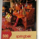 Springbok Jigsaw Puzzles Home For the Holidays Gingerbread Goodies 500 400 Piece Christmas COMPLETE